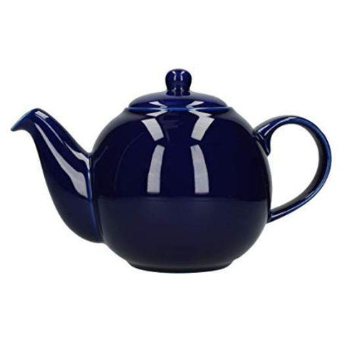 London Pottery Globe 6 Cup Cobalt Blue Teapot