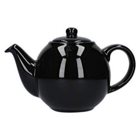 London Pottery Globe 2 Cup Gloss Black Teapot