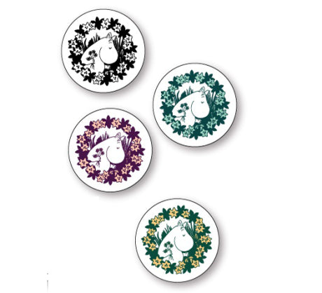 Moomin 70 Coasters 9cm (Set of 4)