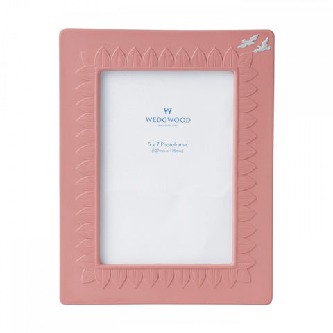 Wedgwood Jasperware Pink Classic Picture Frame