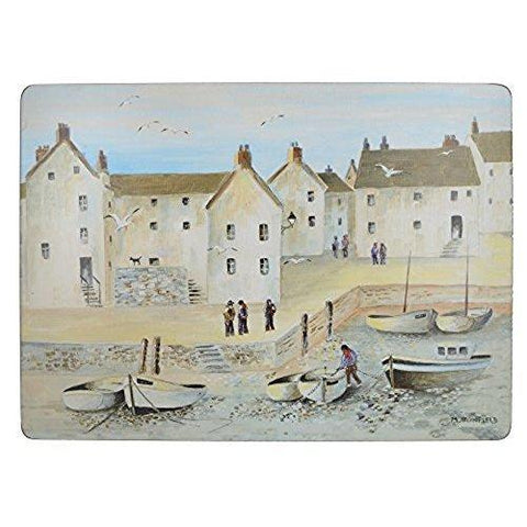 Creative Tops Cornish Harbour Premium Large Placemat (Set Of 4)