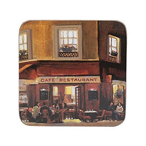 Creative Tops Everyday Home Evening Cafe Coasters 10.5cm by 10.5cm (Set of 4)