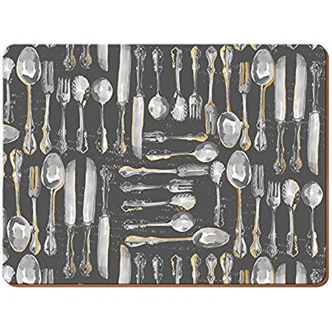 Cutlery Large Placemats 40cm by 29cm (Set of 4)