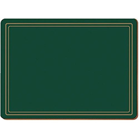 Classic Green Large Placemats 40cm by 29cm (Set of 4)