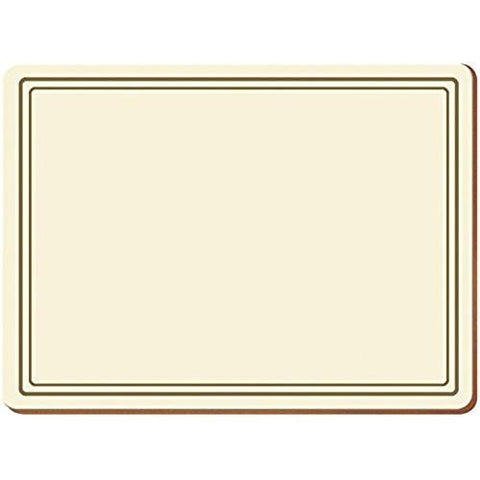 Classic Cream Placemats 30cm by 22.8cm (Set of 6)
