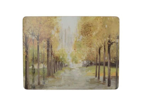 Creative Tops Premium Central Park Placemats PVC Box (Set of 6)