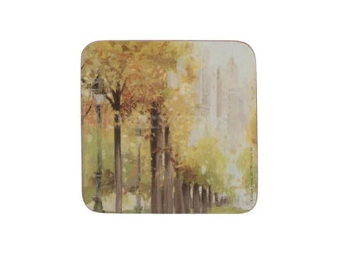 Creative Tops Premium Central Park Coasters PVC Box (Set of 6)