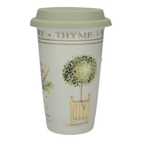 Creative Tops Premium Topiary Double Walled Travel Mug 350ml