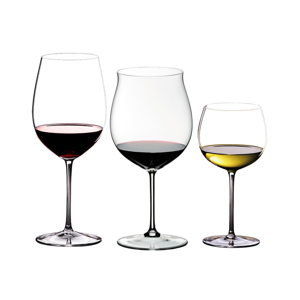 Riedel Sommeliers 3 Piece Red and White Tasting Set