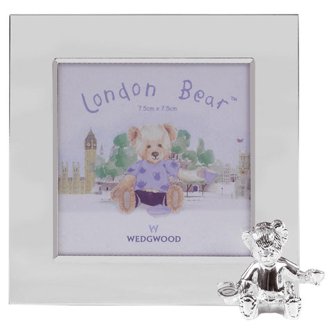 Wedgwood Christening Bear Photo Frame