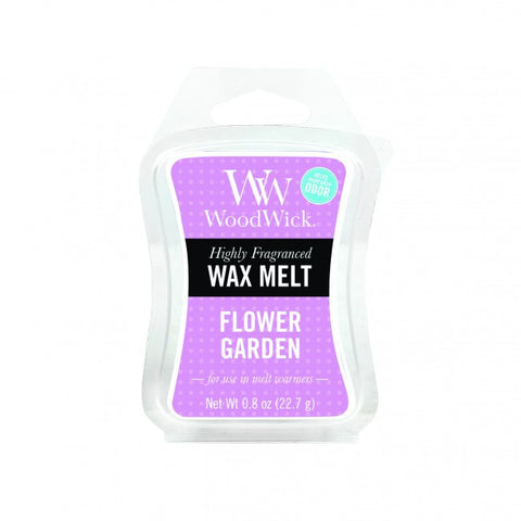 WoodWick Flower Garden Mini Wax Melt