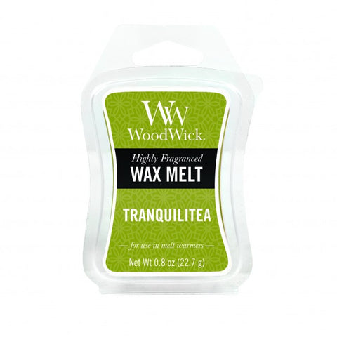 WoodWick Tranquilitea Mini Wax Melt