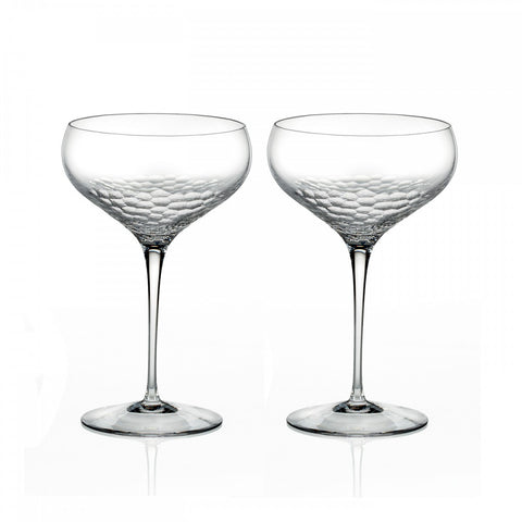 Wedgwood Vera Wang Sequin Champagne Saucer (Pair)