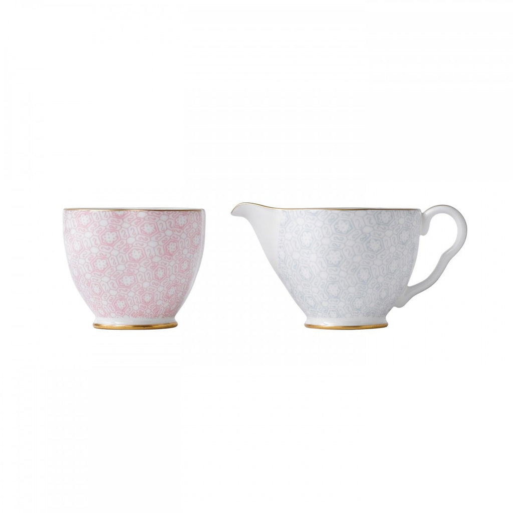 Wedgwood Cuckoo Cream and Sugar 5cm
