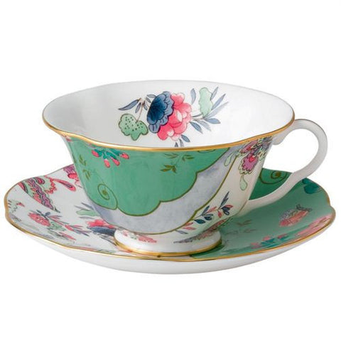 Wedgwood Butterfly Bloom Posy Teacup and Saucer