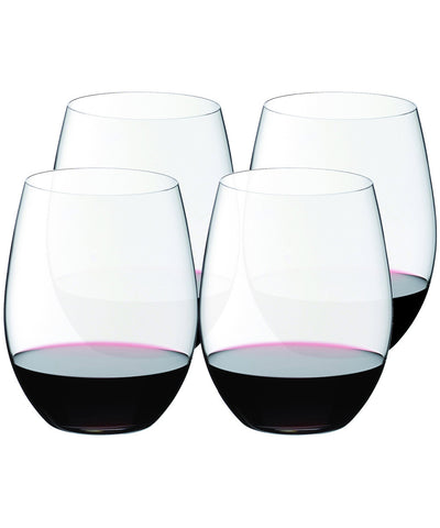 Riedel O Cabernet and Merlot Wine Tumbler (Set of 4)