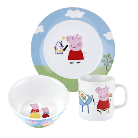 Portmeirion Peppa Pig 3 Piece Boxed Set