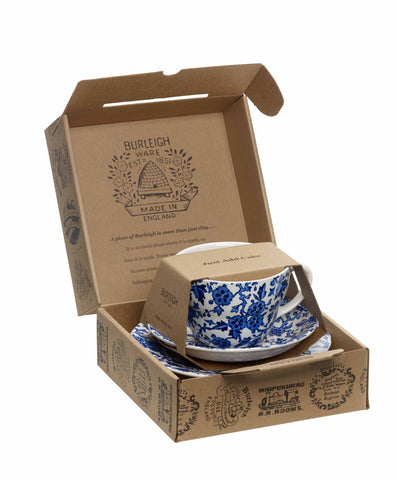 Burleigh Blue Arden Breakfast Cup 3 piece - Gift Set