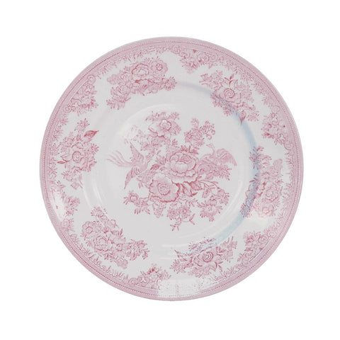 Burleigh Pink Asiatic Pheasant Dinner Plate 25.5cm