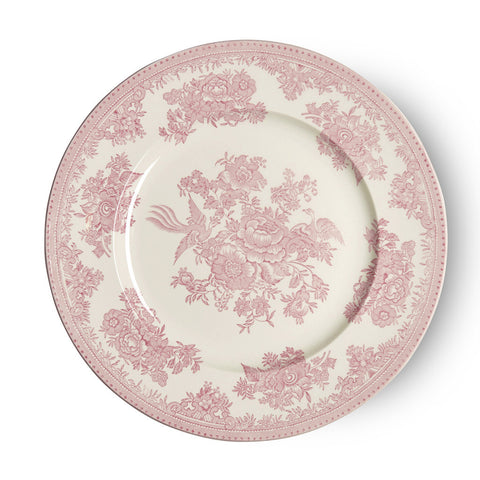 Burleigh Pink Asiatic Pheasant Salad Plate 22cm