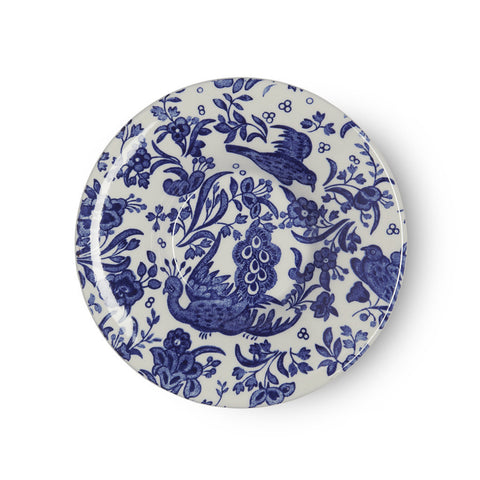 Burleigh Blue Regal Peacock Espresso Cup Saucer (Saucer Only)