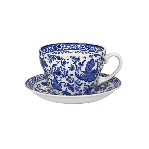 Burleigh Blue Regal Peacock Breakfast Cup 0.42L (Breakfast Cup Only)