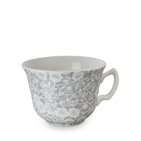 Burleigh Dove Grey Calico Teacup 0.19L (Cup Only)