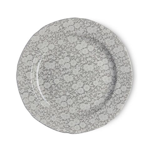Burleigh Dove Grey Calico Dinner Plate 26.5cm