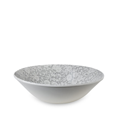 Burleigh Dove Grey Calico Cereal Bowl 16cm