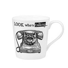 Churchill China About Time Telephone Mug 0.30L