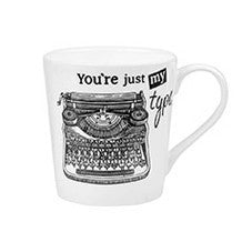 Churchill China About Time Typewriter Mug 0.30L