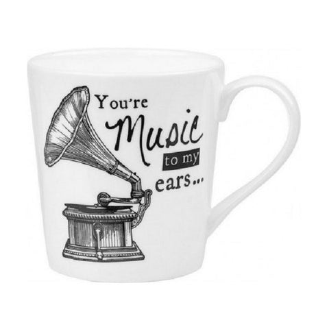 Churchill China About Time Gramophone Mug 0.30L
