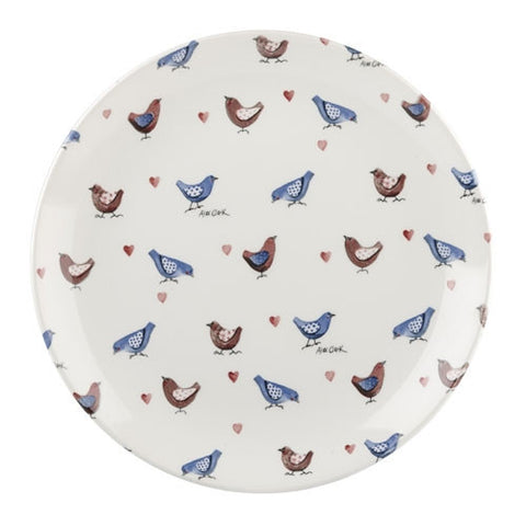 Alex Clark Lovebirds Chicks Dinner Plate 26cm