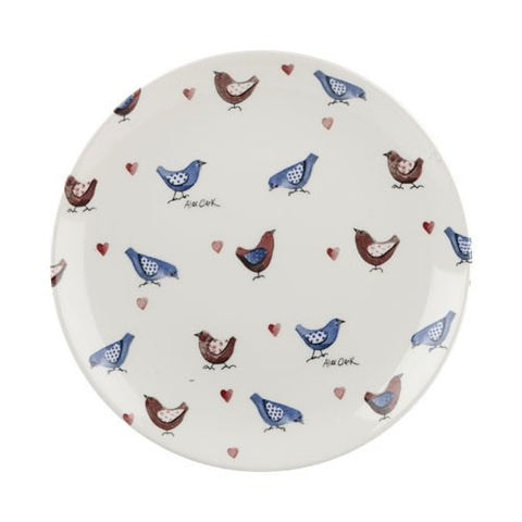 Alex Clark Lovebirds Chicks Salad Plate 20cm