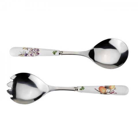 Portmeirion Alfresco Pomona Salad Servers (Pair)