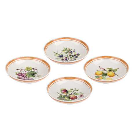 Portmeirion Alfresco Pomona Pasta Bowl 23cm (Set of 4)