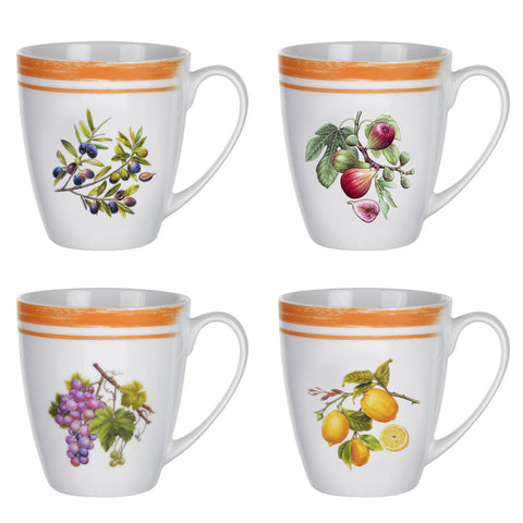 Portmeirion Alfresco Pomona Mug 0.35L (Assorted Designs)