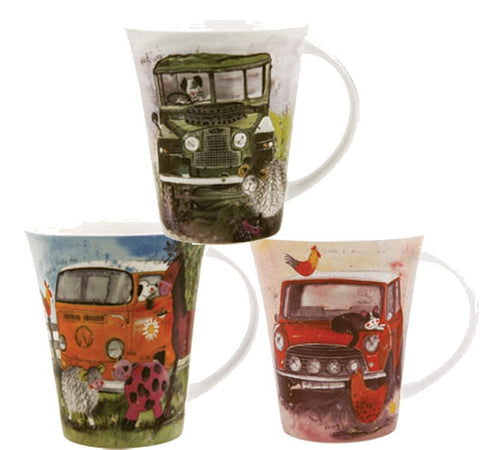 Alex Clark Vehicles Mug 0.37L (Set of 6)