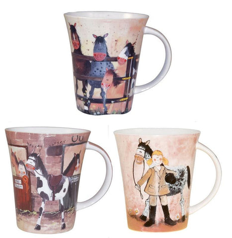 Alex Clark Ponies Mug 0.37L (Assorted Designs)