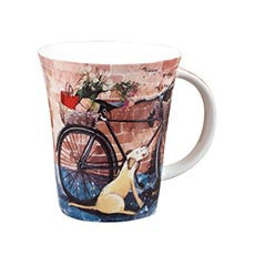 Alex Clark Bicycle Mug 0.37L