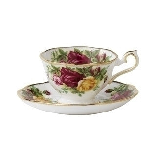 Royal Albert Old Country Roses Coffee Saucer Avon