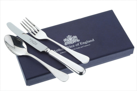 Arthur Price Baguette Child Gifts Knife Fork and Spoon Set