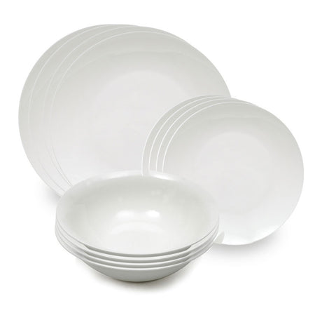 Maxwell and Williams Cashmere Bone China 12 Piece Coupe Dinner Set
