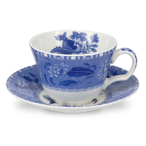 Spode Blue Room Camilla Cup and Saucer 0.22L