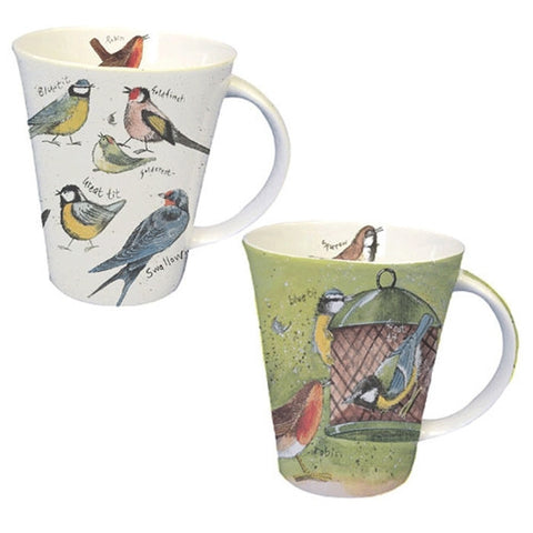 Alex Clark Bird World Mug 0.37L (Set of 6)