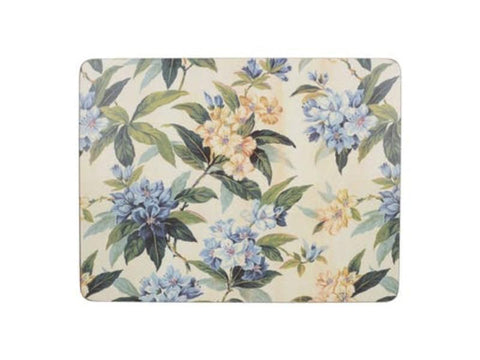 Creative Tops Premium Traditional Floral Placemats (Pack of 6)