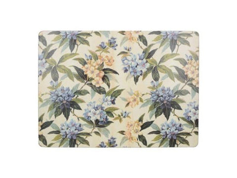 Creative Tops Premium Traditional Floral Large Placemats (Pack of 4)