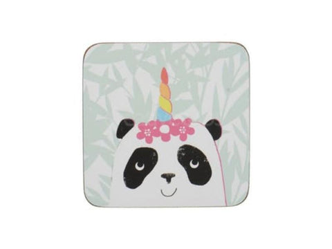 Creative Tops On The Table Pandicorn Coasters (Pack of 4)
