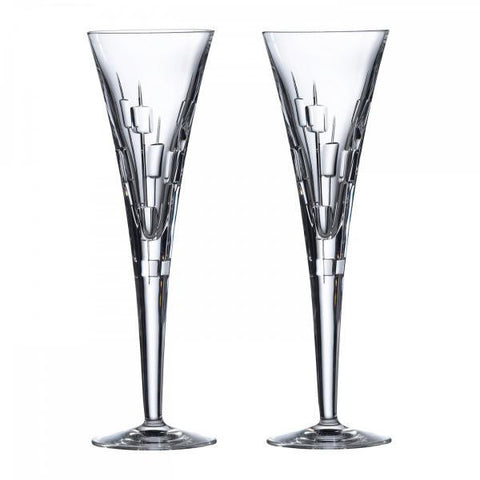 Royal Doulton Celebration Abacus Champagne Flute (Pair)