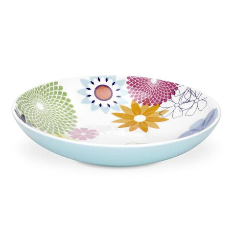 Portmeirion Crazy Daisy Pasta Bowl 8.5 In (Set of 4)